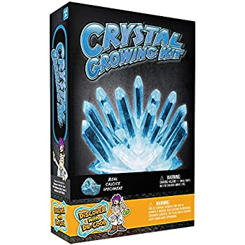 glow in the dark crystal growing kit instructions