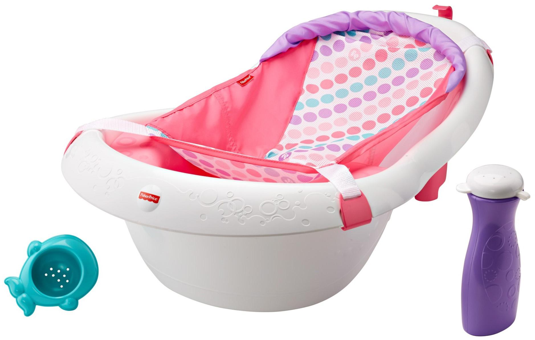 fisher price baby bath tub instructions