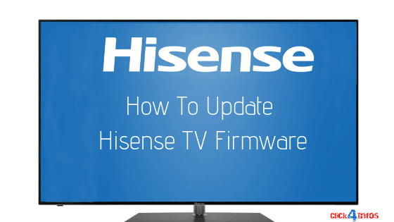 how to update hisense firmware manual