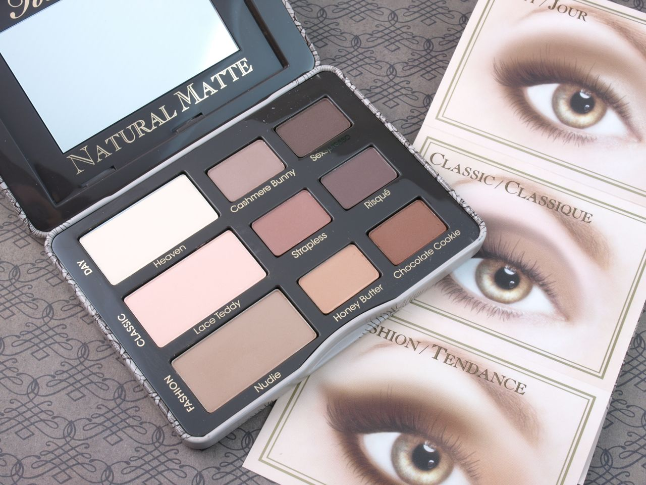 Too faced natural eye palette instructions