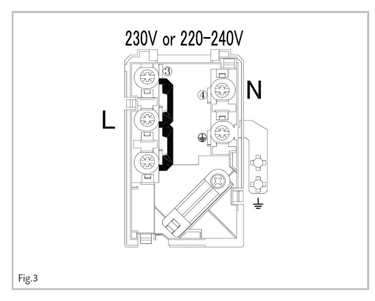 induction hob wiring instructions