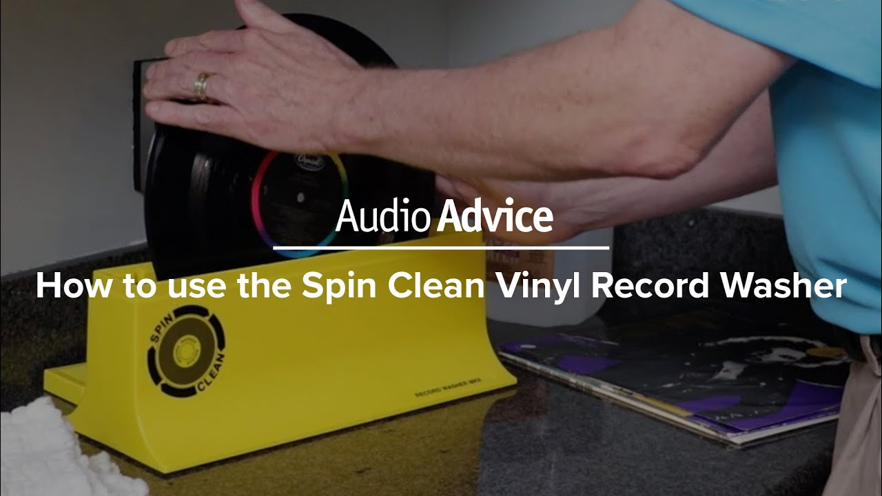spin clean record washer instructions
