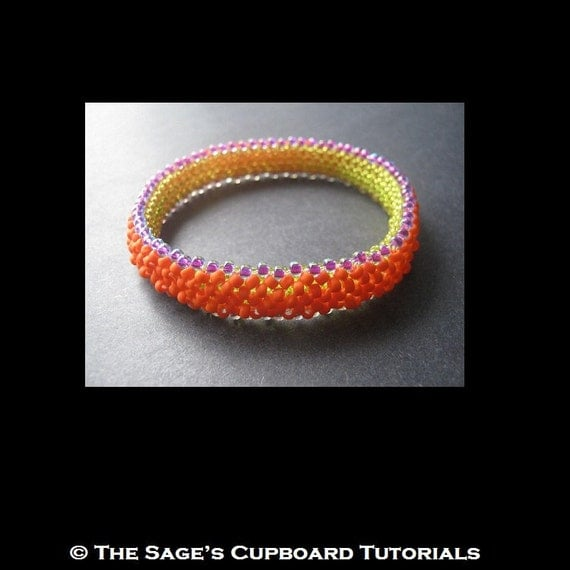 basic right angle weave instructions