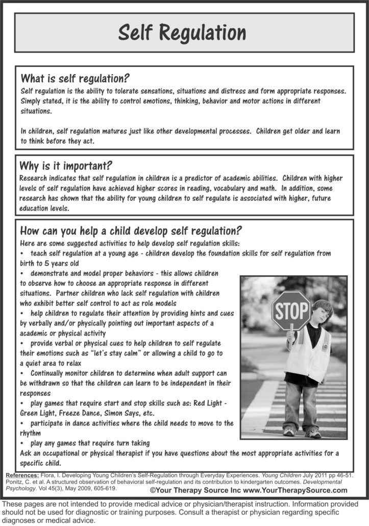 Self-regulation in the classroom helping students learn how to learn