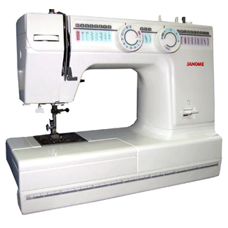 old janome sewing machine manuals