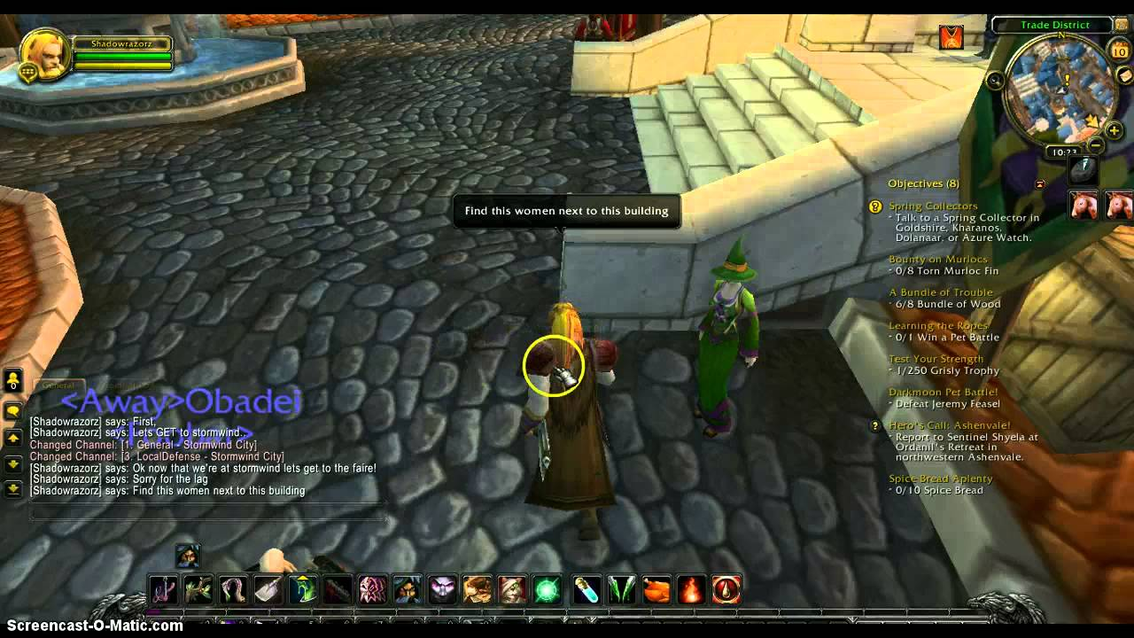 Wow how to get to stormwind