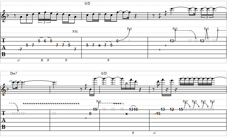 Another brick in the wall solo tab pdf