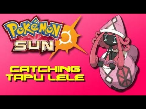 Tapu lele how to catch