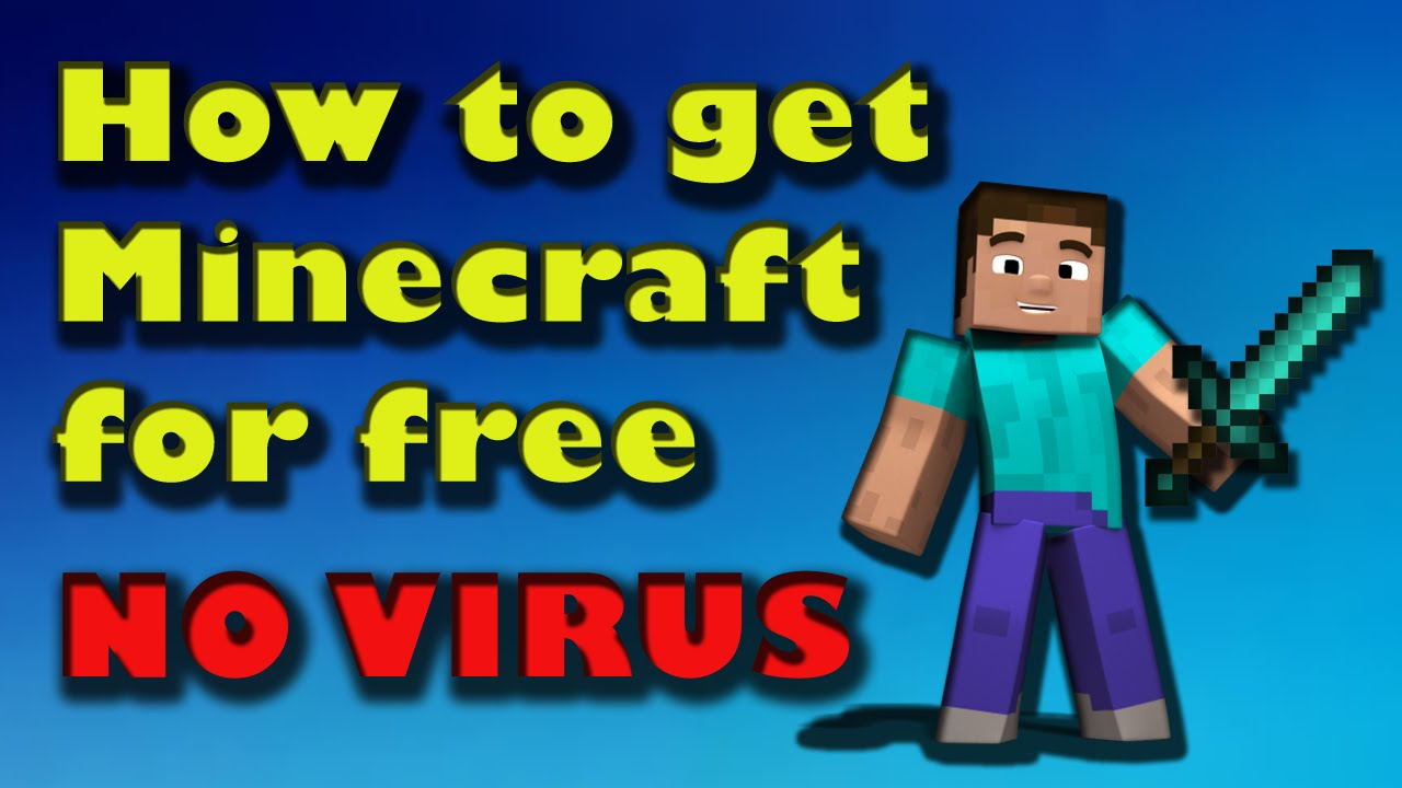 Minecraft how to get it for free no download