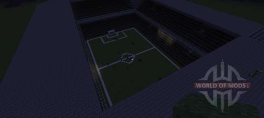 Minecraft football stadium instructions