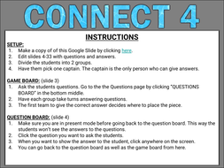 Connect 4 game instructions