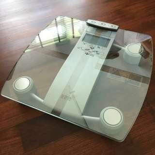 camry weight scale instructions