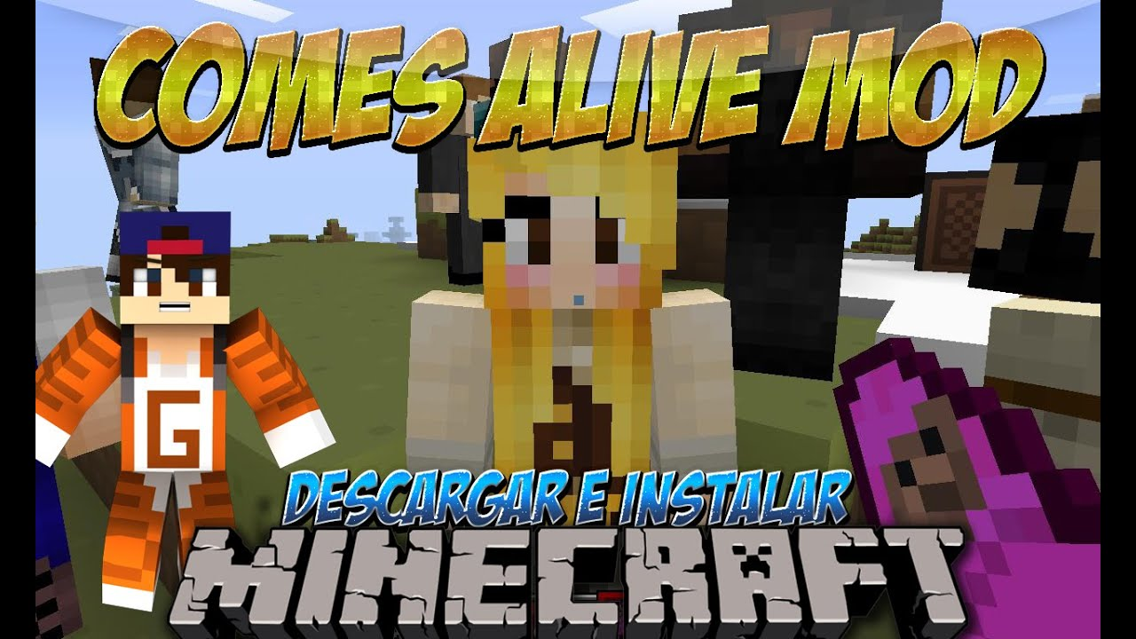 Minecraft comes alive 1.10.2 how to get grandkids