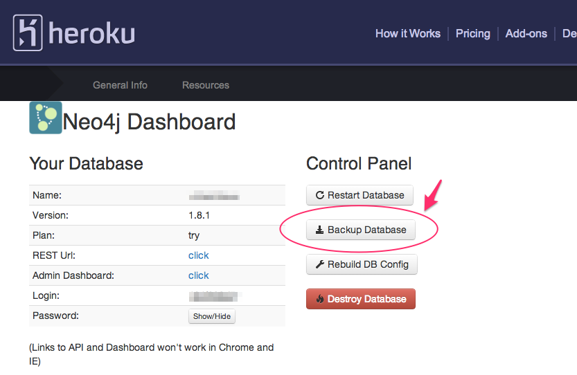 Heroku how to add database