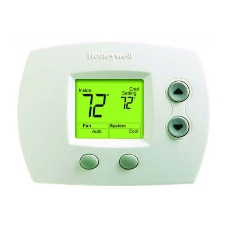 honeywell thermostat instructions for model th5110d1006 1355