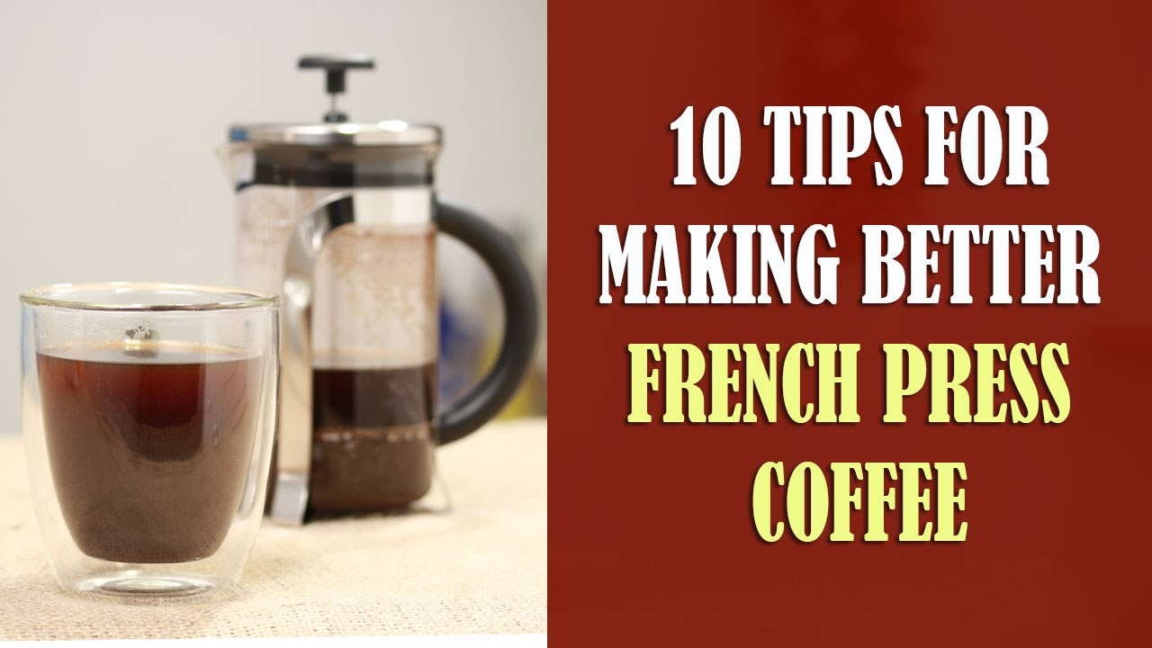 la cafetiere french press instructions