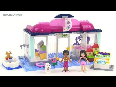 lego friends pet salon instructions