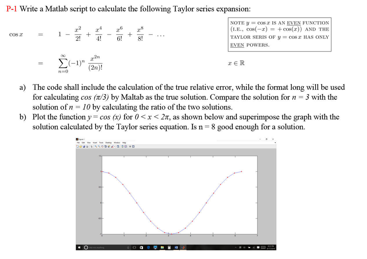 Matlab given y value how to find x
