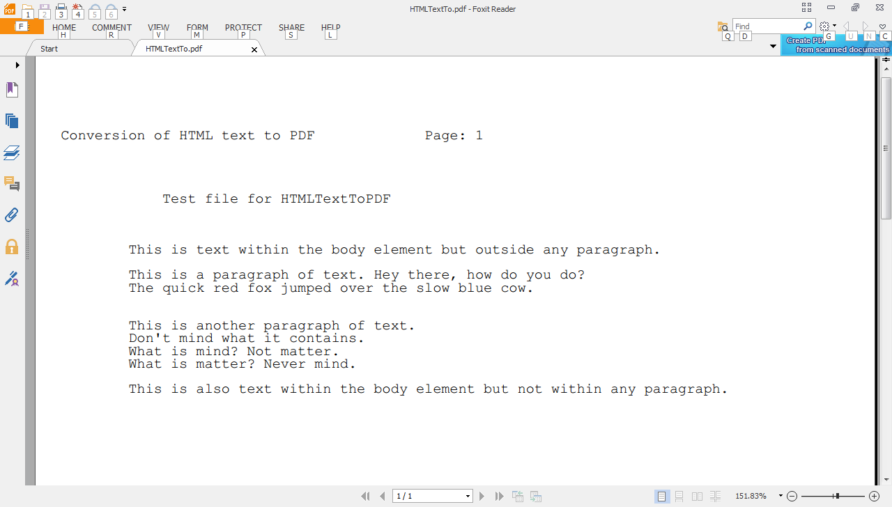 Python pdfminer pdf to text